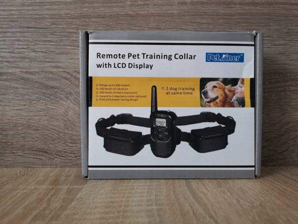 Petrainer 998D Távirányítós training elektromos nyakörv LCD kijelzővel 5