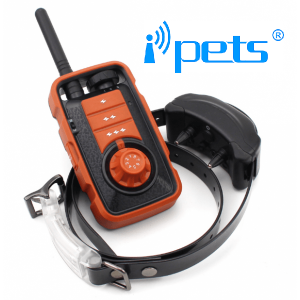 iPETS 610 Távirányítós elektromos kiképző nyakörv vízálló adó és vevőegység vadászatra is kiváló