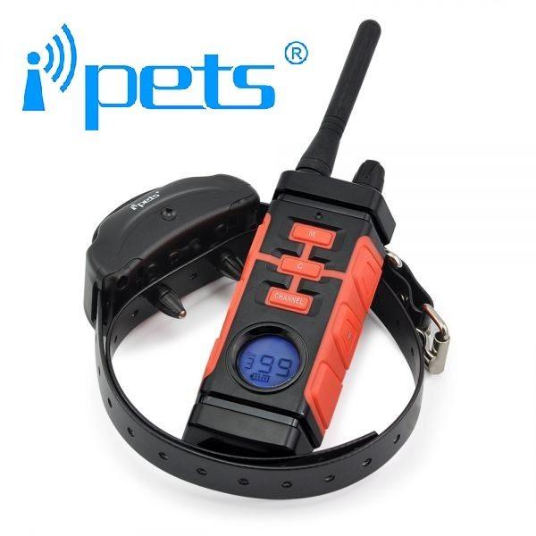 iPETS 616 Távirányítós elektromos kiképző nyakörv vízálló adó és vevőegység vadászatra is kiváló 3