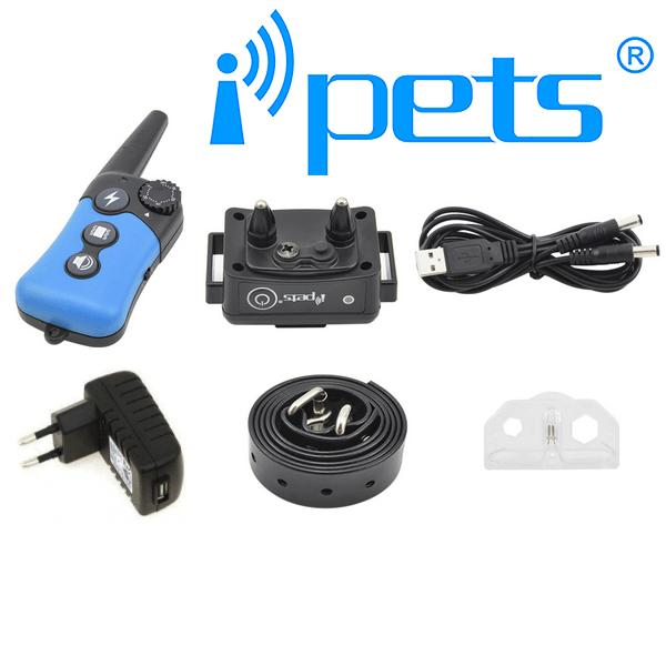iPETS 619 Távirányítós elektromos kiképző nyakörv vízálló adó és vevőegység 3