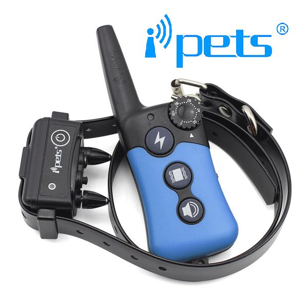 iPETS 619 Távirányítós elektromos kiképző nyakörv vízálló adó és vevőegység 7
