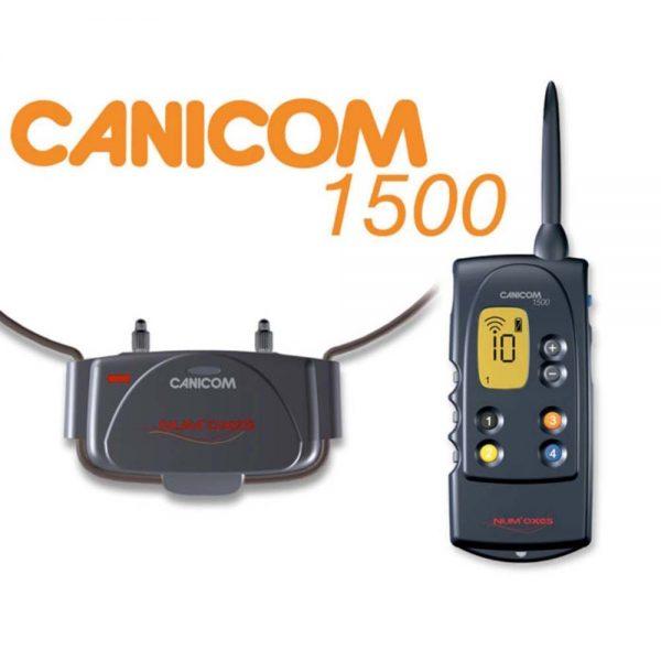 NUM'AXES CANICOM 1500 Elektromos nyakörv, vadászatra kiváló 3