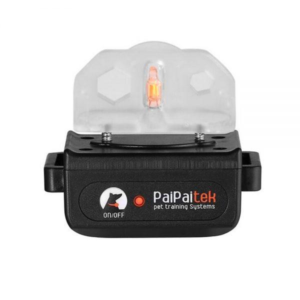 Paipaitek PD520C távirányítós elektromos nyakörv szett, esőálló, háttérvilágított kijelző 300 m 4