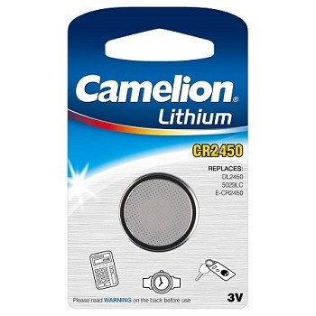 Camelion CR2450 lithium gombelem 3V 2