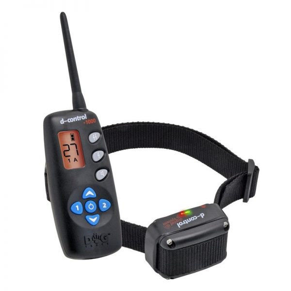 D Control 1000 elektromos kutyakiképző nyakörv (1000m) – Dogtrace 3