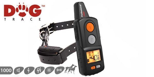 D Control Professional 1000 kutyakiképző nyakörv – Dogtrace 4