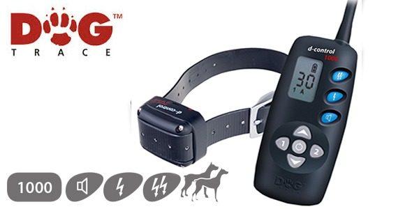 D Control 1000 elektromos kutyakiképző nyakörv (1000m) – Dogtrace 4