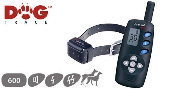D Control 600 elektromos nyakörv (600m) – Dogtrace 6
