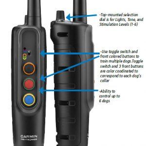Garmin PRO 70 elektromos nyakörv és ugatásgátló képzési rendszer 1500m