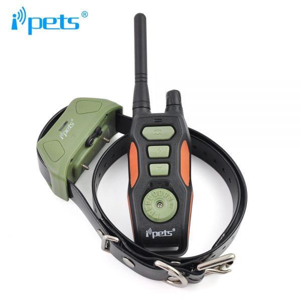 iPETS 618 Távirányítós elektromos kiképző nyakörv vízálló adó és vevőegység vadászatra is kiváló 4