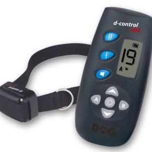 Dogtrace D-Control 400 250 m hatótávú, elektromos nyakörv, kiképző nyakörv