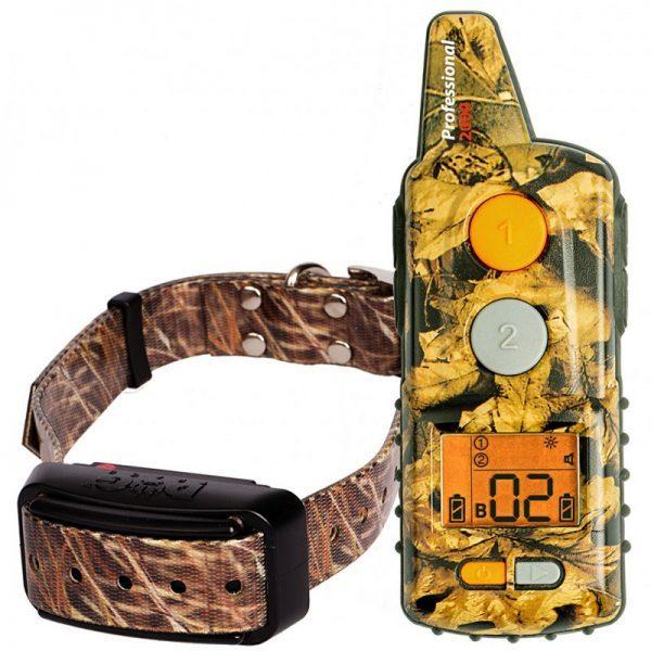 Dogtrace D-Control Professional 2000, 2000m hatótávú, elektromos nyakörv, kiképző nyakörv