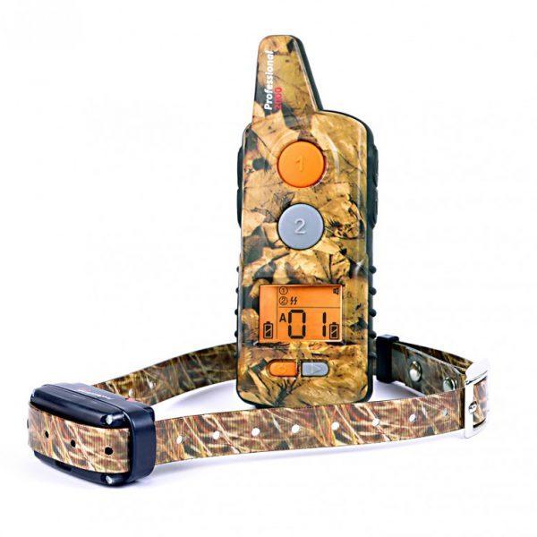 Dogtrace D-Control Professional 2000 ONE, 2000m hatótávú, elektromos nyakörv, kiképző nyakörv