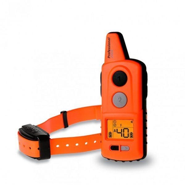 Dogtrace D-Control Professional 2000 ORANGE, 2000m hatótávú, elektromos nyakörv, kiképző nyakörv