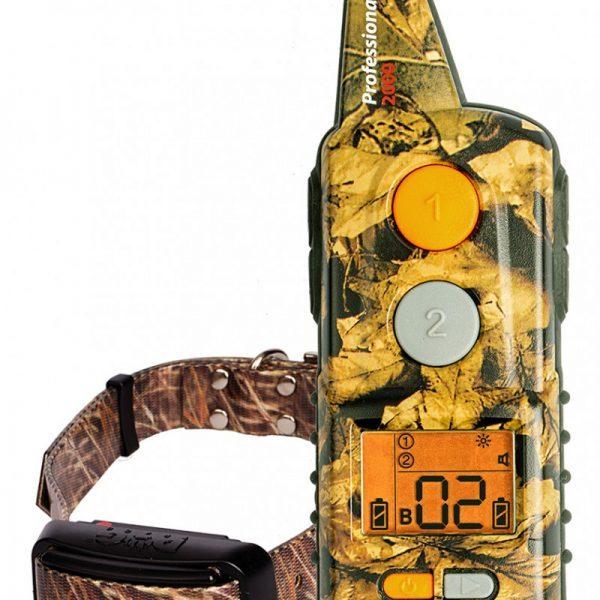 Dogtrace D-Control Professional 2000 mini, 2000 m hatótávú elektromos nyakörv, kiképző nyakörv